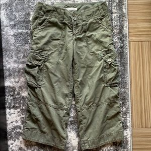 Abercrombie & Fitch Cargo Surplus Cropped Pants